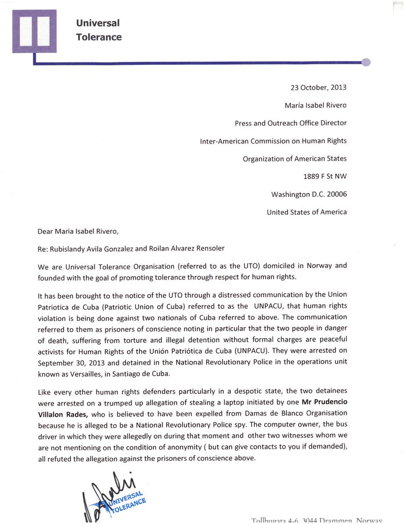 Universal Tolerance - Letter to HR American commission_Página_1